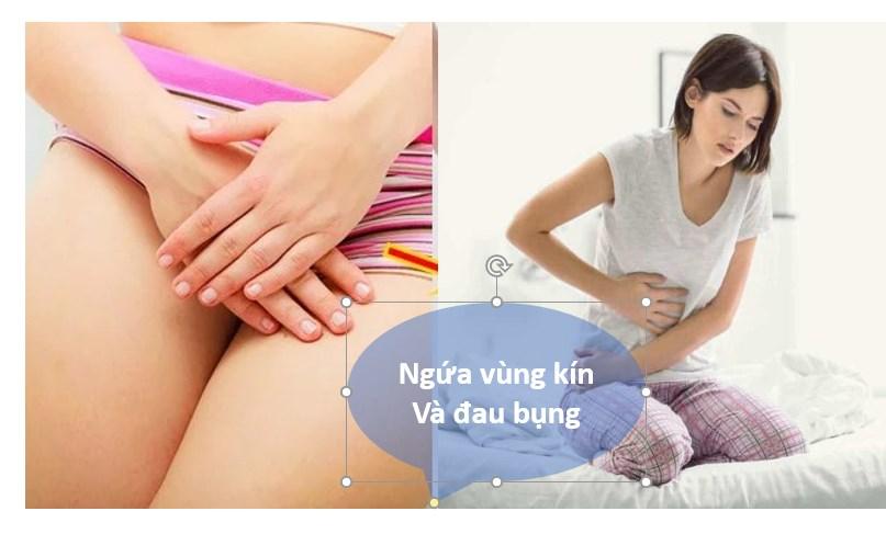 Đau bụng và ngứa vùng kín là bệnh gì? Nguyên nhân và cách xử lí