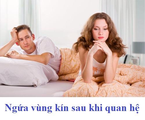 Nguyên nhân và cách chữa bệnh ngứa vùng kín sau khi quan hệ